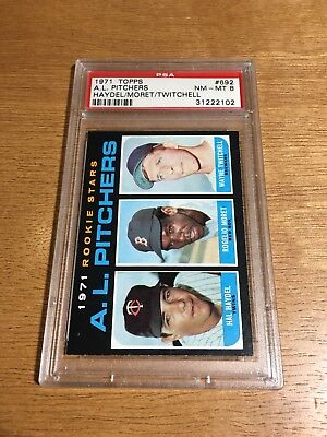 1971 Topps TOP 40 REGISTRY SET BREAK! PSA 8 #692 AL PITCHERS HAYDEL MORET