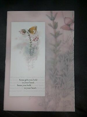 Marjolein Bastin Thank You Butterfly Card Nature's Sketchbook w/ Envelope