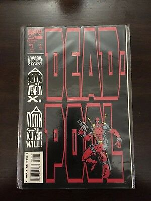 Deadpool Circle Chase  #1 Comic Book