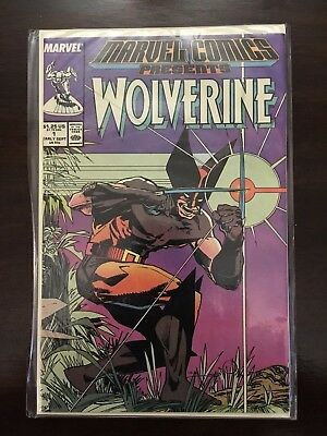 Marvel Comics Presents Wolverine #1 Comic Book