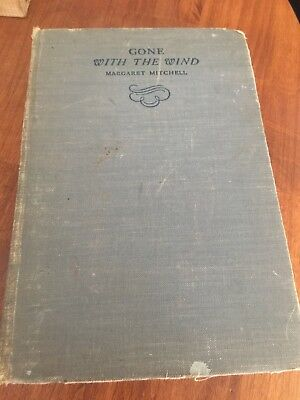 Gone With The Wind, Margaret Mitchell, 1936, Hb