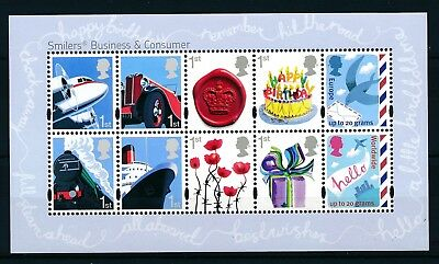 GB 2010  Miniature Sheet Business and Consumer SG MS3024 MNH