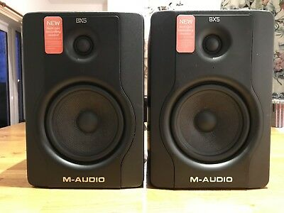 M Audio BX5 D2 Active Monitor Speakers (Pair)