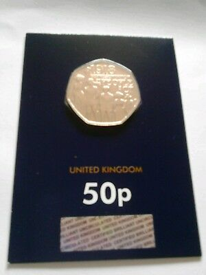 New 2018 Representation of the People Act Uk Certified BU Unc Hologramed 50p