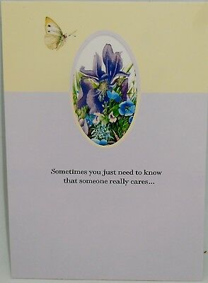 Marjolein Bastin Caring Thoughts Greeting Card Nature's Sketchbook w/ Envelope