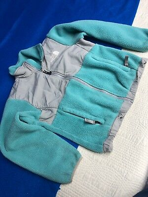 Girls Youth Small North Face Fleece Jacket, Used