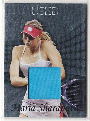 Maria Sharapova 2011 Ace Authentic Matchpoint 2 Used Materials Card