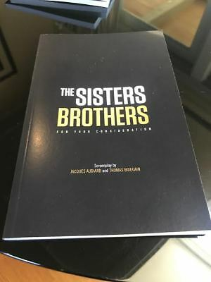 THE SISTERS BROTHERS (2018) Script, Screenplay FYC Edition, RARE, NEW Jon Reilly