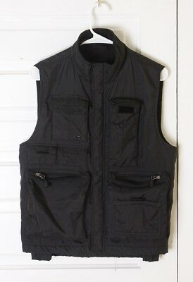 Gap Black Photography Hiking Camping Vest With Multiple Pockets XS S M Unisex