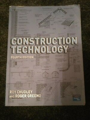Construction Technology, Greeno, Roger,Chudley, Mr Roy, Good Book fourth edition