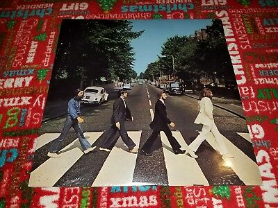 The Beatles SEALED lp record ABBEY ROAD, 1988 C1-46446