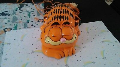 vintage collectable garfield telephone