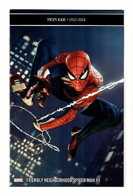 Friendly Neighborhood Spider-Man #1 Video Game Variant Cover Ps4 Marvel 2019