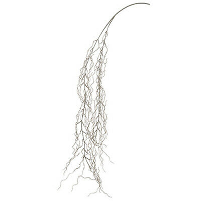 "54"" Spanish Moss Artificial Hanging Stem -Green/Gray (pack of 12)"