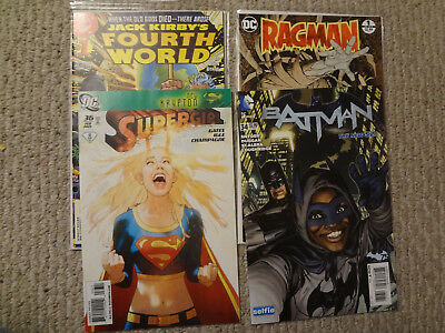 Dc Comic Lot Of 4 Issues Supergirl Middleton Batman And More