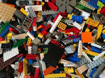 2 Lbs Pounds of LEGOS Bulk Lot - Cleaned Sanitized w/MINIFIGURES