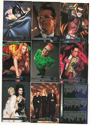 1995  Batman Forever Fleer Ultra Complete Set ( 120 Cards)   NICE!!!