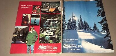 VINTAGE FROSTLINE KITS Catalogs Quilts,Outdoor gear&clothes Spring 76 Winter 77