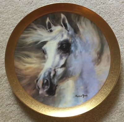 Vintage 1980 Horse Plate HARLAND YOUNG PLATE the Arabian #335 Kern Collectibles