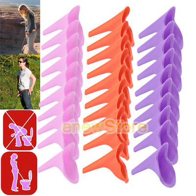 30pcs Womens Female Portable Urinal Urine Funnel Camping Travel Emergency Toilet
