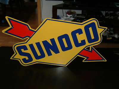 SUNOCO METAL SIGN [new old stock]