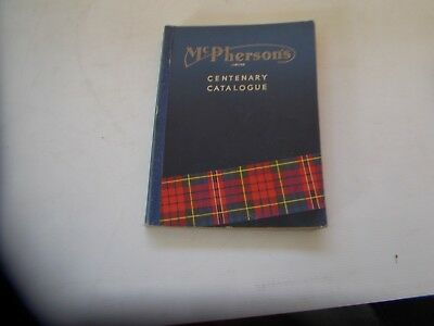 VINTAGE 1960  Mcphersons TOOLS & MACHINERY CENTENARY 100 Years Catalogue