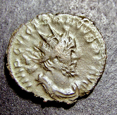 VICTORINUS, Courage & Character Virtues, 270 AD, Imperial Roman Emperor Coin