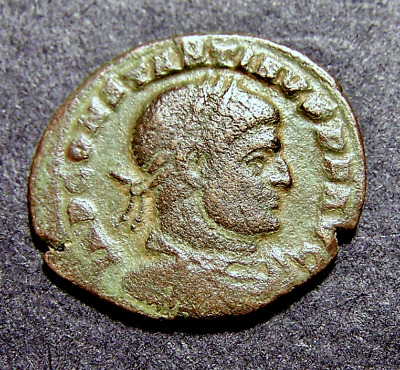 CONSTANTINE I, Sun Worship, Winter Solstice, Old France, c 316 AD, Roman Coin