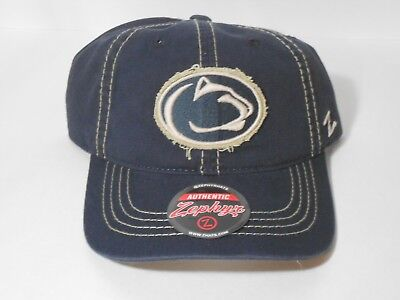 designer fashion b1697 02fb5 NWT NEW Penn State Nittany Lions Zephyr Cap Adjustable Buckle Hat Free  Shipping