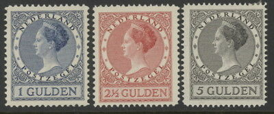 Netherlands 161 to 163 mh complete set