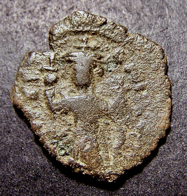CONSTANS II, Christian Crosses in Constantinople, 7th Cent AD, Byzantine M Coin