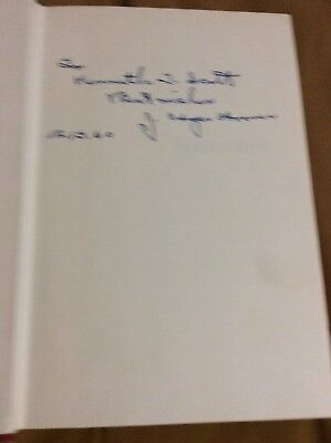 """J. Edgar Hoover Signed Book """"Masters Of Deceit"""" 1st Director Of The FBI"""