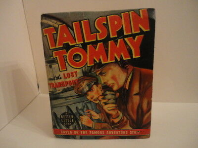 Tailspin Tommy and The Lost Transport 1940  Better Little Book #1413
