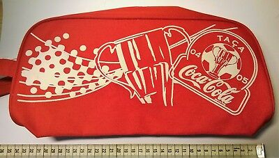 Taca De Portugal 2004-2005 Football Tournament Red Bag With Coca-Cola Coke Logo