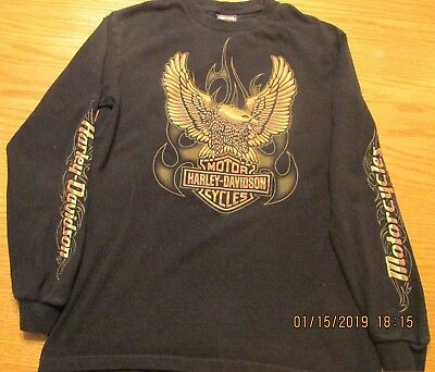 Harley-Davidson Twin Cities Men's Long Sleeve T-Shirt Medium