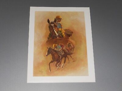 Fred Stone Horse Racing Print - small - NORTHERN DANCER Hartack and Shoemaker Up