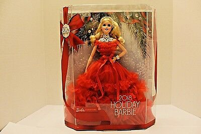 Barbie 2018 Holiday Signature Collector Doll - Blonde Brand New