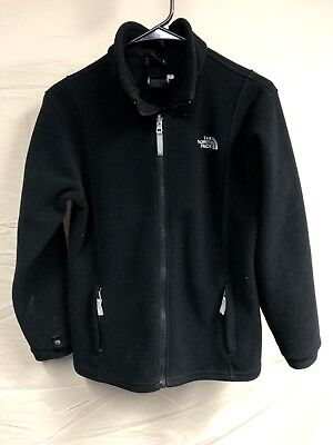 Girls Large North Face Fleece Jacket, Cleanable Lint