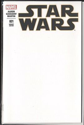 Star Wars Blank Sketch Cover Variants U-Pick Marvel LEIA Poe KANAN Etc.