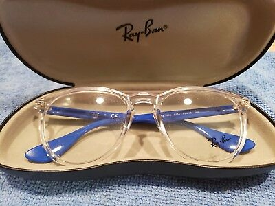 dc7c3cfd2a RAY-BAN RB7046 5734 Eyeglass frames blue clear 51 18 140 New ...
