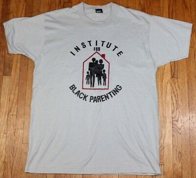 1980s Black Parenting Institute Vintage Graphic Shirt Mens XL Screen Stars LA