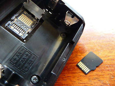 Uniden USDS100 and SDS100  Scanner  Micro-SD Card suit Victoria