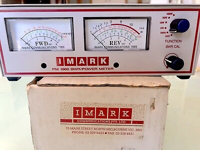 Power And SWR Meter PM-1000, 25-1000 MHz