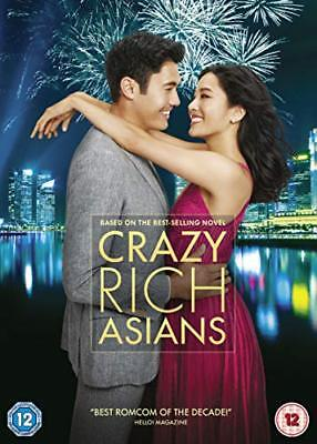 Crazy Rich Asians  with Constance Wu New (DVD  2018)