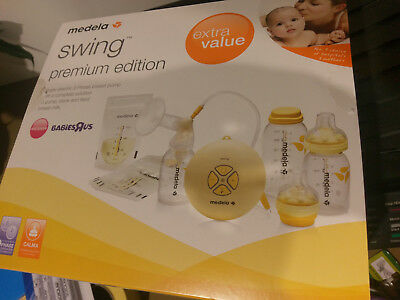 Medela Swing Premium Edition Single Electric Breast Pump Kit