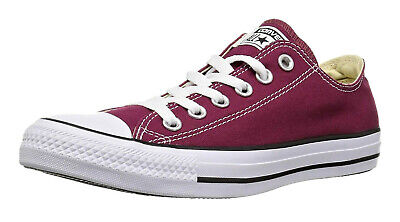 d5da2510dd95 Converse Chuck Taylor All Star Low Tops Maroon OX Mens Sneakers Shoes Item  M9691