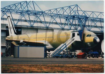 AIRBUS A340-300 for Olympic Airways - photo de presse Blagnac - AIRCRAFT