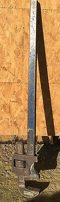 "Vintage Record 36"" Stilsons Pipe Wrench"