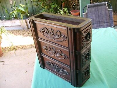 """3 X ANTIQUE""""SINGER""""SEWING MACHINE DRAWERS & CRADLE Great Shape a 1909 AGE"""