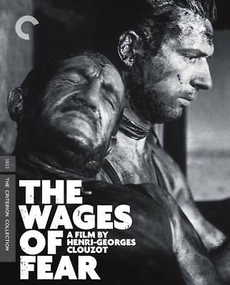 The Wages Of Fear - Criterion Blu-Ray - Brand New And Sealed - Region A Locked